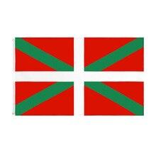 Jennifer 90x150cm Euskal Herria Basque Flag