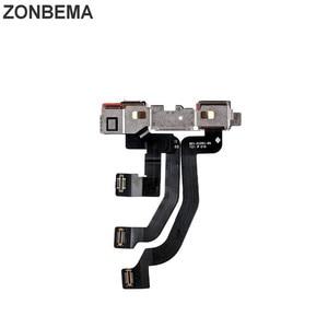 Image 5 - ZONBEMA 10 قطعة/الوحدة 100% اختبار العمل الجبهة كاميرا فيس تايم مع القرب الاستشعار فليكس كابل ل آيفون X XR XS ماكس 7 8 زائد