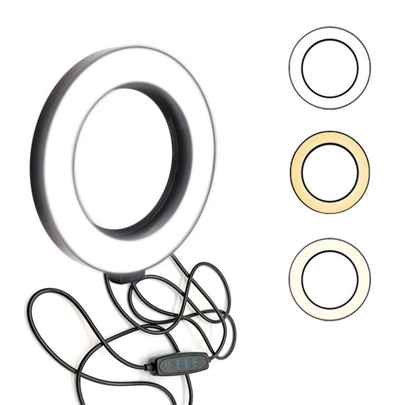 Photographic Lighting LED Ring Light Studio Photo Video Dimmable Lamp Selfie for Youtube Tiktok Makeup Video Live Phone Selfie
