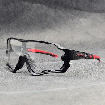 Óculos fotocrômico esportivo de marca, óculos de sol mtb bicicleta de montanha lente para ciclismo ao ar livre