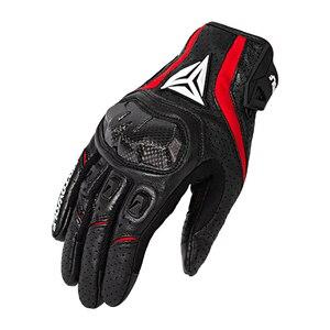 Image 2 - Guantes de piel de oveja para motocicleta, resistentes al agua, transpirables, para patinete chopper, guantes de cuero para anticaída motocross