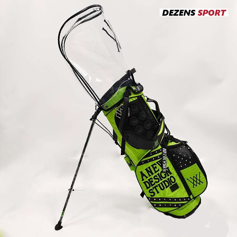 NEW Fashion brand golf Standard Ball Golf Bag Caddy Golf Cart Stuff Stand Tripod Golf Bag two caps 1