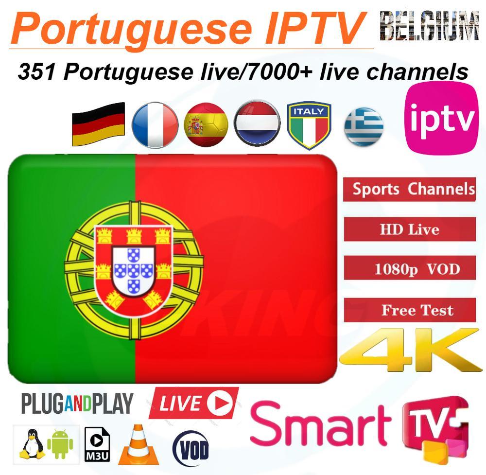 300+ Live Portugal IPTV Portuguese IPTV/europe IPTV Subscription Germany French Spanish Belgium Mediaset Premium M3u Android Tv