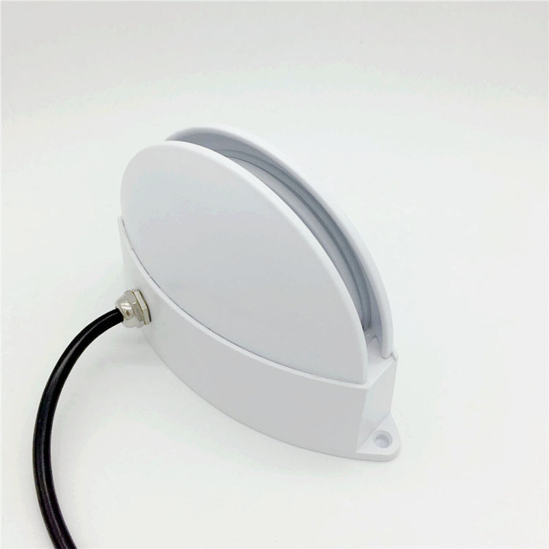 Semicircle Outdoor Waterproof IP65 LED Porch Lights Modern Home Decor Up Down Aluminum Wall Lamp For Yard Corridor Balcony