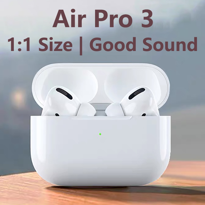 Original Air Pro 3 TWS 1:1 Airpodding Wireless Headphones Bluetooth Earphone Air Earbuds Stereo Headset For IPhone IOS Android