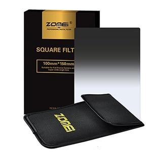 Image 2 - Zomei Vierkante Filter 100Mm X 150Mm Afgestudeerd Neutral Density Grijs GND248 ND16 100Mm * 150Mm 100X150Mm Voor Cokin Z PRO Serie Filter