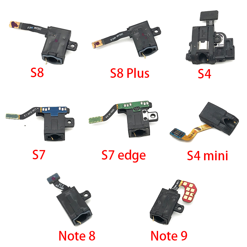 Earphone Headphone Audio Jack Flex Cable Replacement For Samsung Galaxy S10 S10e S9 S8 Plus S7 S7 Edge S4 Mini Note 8 9