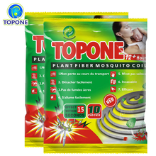 2bags/Lot Repellent Mosquito Coil Incense Burner Accessories Insect Repellents Natural Plant Fiber Incense Mosquito Killer