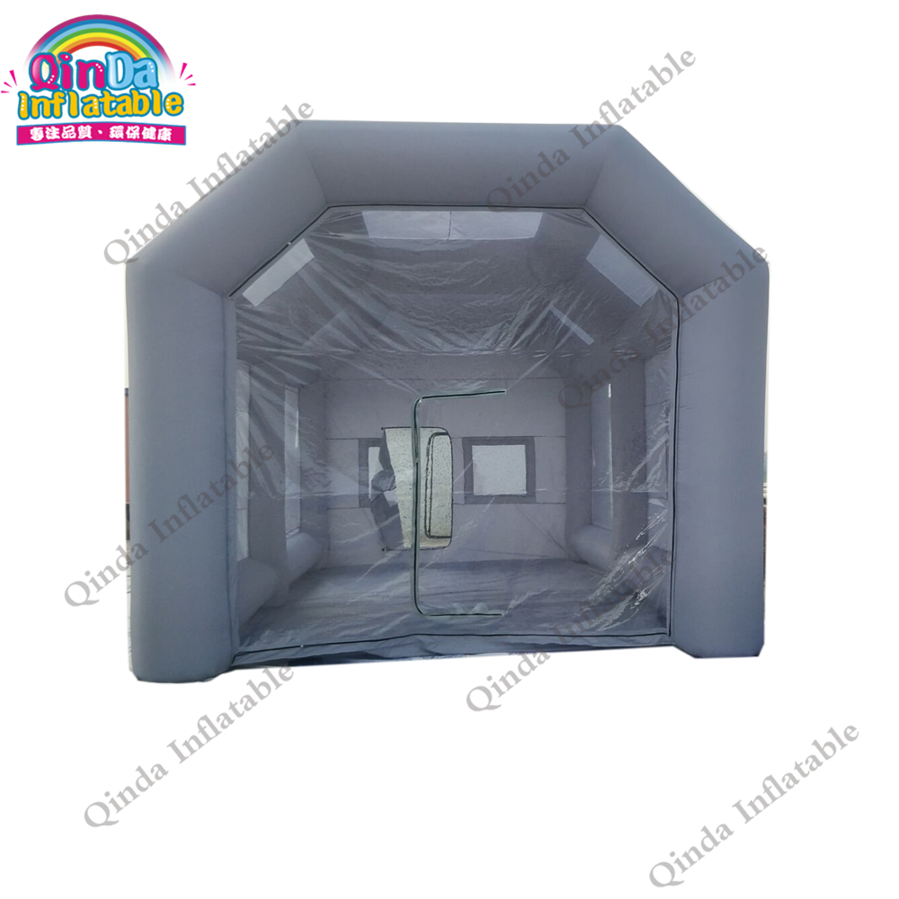 Free Shipping Outdoor Inflatable Paint Booth Garage Customized Inflatable Spray Booth For Car Painting