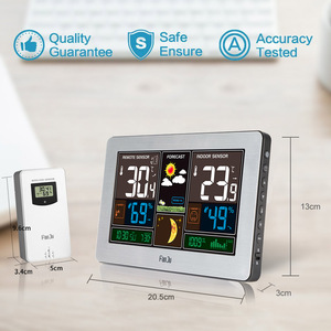 Image 5 - FanJu Temperature Humidity Wireless Sensor Indoor Outdoor Hygrometer Thermometer Wall Barometer Forecast Weather Station
