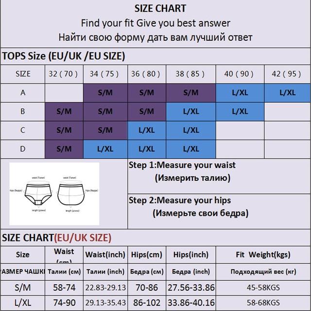 2PCS Bra Set Women Sexy Female Underwear Lingerie Ribbed Tops Girls Tank Crop Top 6