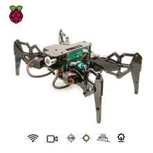 Adeept darkpaw bionic quad ped spider robot kit для raspberry