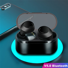 VOBERRY беспроводной в уши сенсорный наушник наушники Bluetooth 5,0 IPX5 Водонепроницаемая гарнитура стерео Спортивная гарнитура с микрофоном#2
