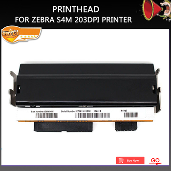 Condition G41400M Printer head For Zebra S4M printhead Thermal Barcode Printer 203dpi Part Number