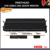 Condition Printer head For Zebra S4M printhead Thermal Barcode Printer 203dpi Part Number G41400M