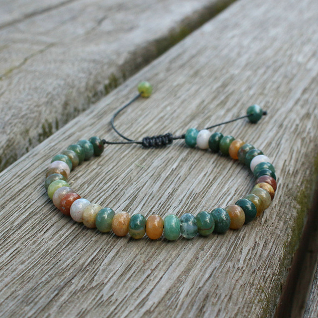 4*6mm Amazonite Bead Bracelet 1
