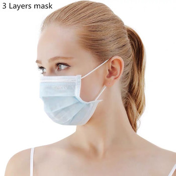 50pcs N90 Face Mouth Mask  Anti Virus Disposable Protective Mask Filter Dustproof Earloop Non Woven Mouth Masks 24Hours Shipping