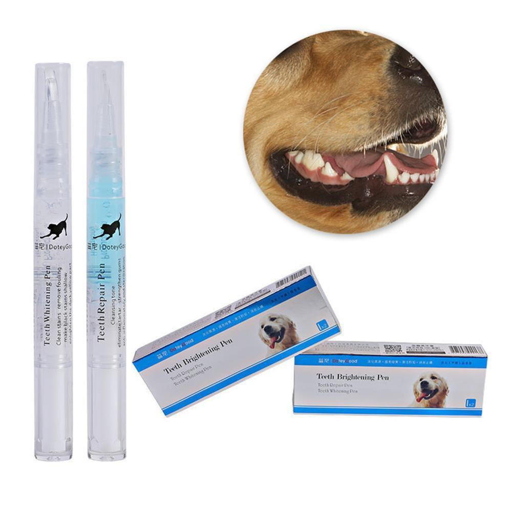 1PC Pet Dogs Cats Teeth Cleaning Kit Tartar Dental Stone Cleaning Pen 2 Pcs/lot And Stainless Steel Scraper Pet Supplies New Hot