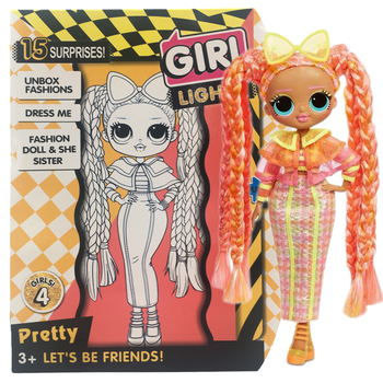 New Original LOL Surprise Doll L.O.L. Marvels At OMG Collection Winter Disco Doll& Sister Toy Gift Action