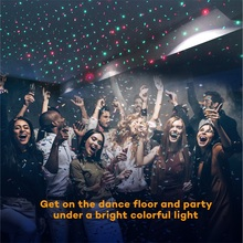 Outdoor Laser Projector Sky Star Spotlight Showers Landscape DJ Disco Lights R&G Garden Lawn Christmas party