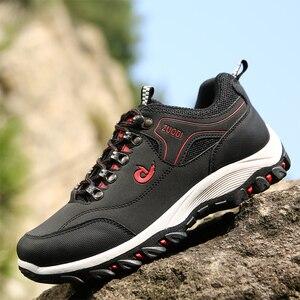Image 2 - 2020 לנשימה נעלי הליכה גברים הליכה סניקרס חיצוני החלקה טיפוס טרקים ספורט הנעלה KITLELER Zapatillas Hombre