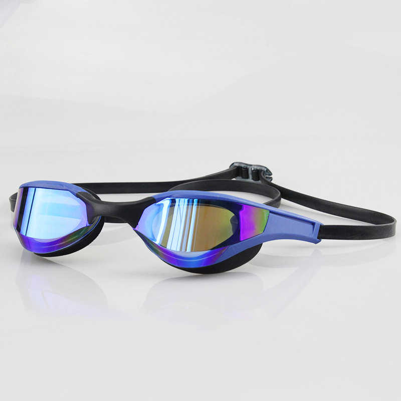 New Profession Racing Swimming Glasses Plating Anti-fog Waterproof UV Protection Competition Swimming Goggles Match Swim Glasses
