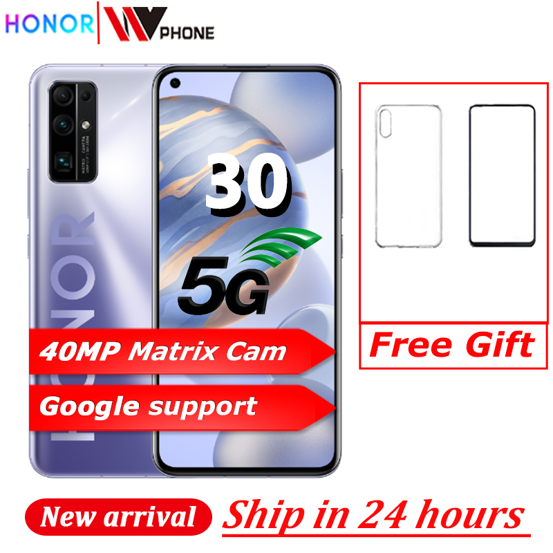 HONOR 30 5G Smart Phone Kirin985 Soc 6,53