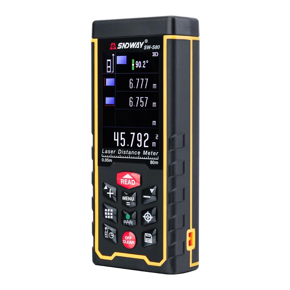 Lézeres távolságmérő Hatótávolságmérő kültéri 80m-es - Mérőműszerek - Fénykép 2