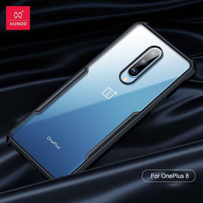 For OnePlus 8 Case Xundd Airbags Shockproof Bumper Transparent Back Cover for OnePlus 8 Pro Case for One Plus 8 Pro Case Coque(China)