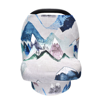 цена на Nursing Cover Scarf Canopy Breastfeeding Cover Multifunction Cape Baby Stroller Cover Baby Car Seat Cover Carseat Cover