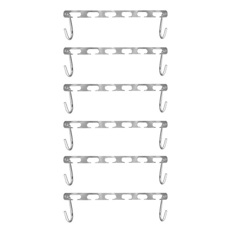 Multifunctional Magic Clothes Hanging Chain Metal Clothes Closet Hangers Shirts Tidy Hangers Save Space Clothing Organizer in Hangers Racks from Home Garden