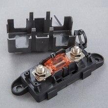 Schraube Nach Unten Mega Sicherung 300A 60V + Mega Sicherung Halter Box für Automotive, Gabelstapler, Van, marine, Lkw, Boot, RV