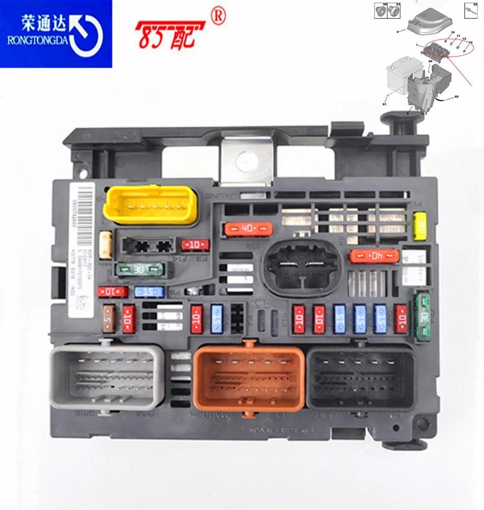 Brand new original fuse box assembly 9809742880 9666700480 for Peugeot  307/408/308 BSM R05 = R20 for Citroen C4 BSM|Fuses| - AliExpress | Citroen C4 Fuse Box Price |  | AliExpress