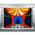 Купить ужасный цирковой фон для фотосъемки ретро красные занавески