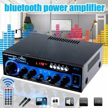 1000W 2CH HI FI Digital Audio Stereo Amplifier Stereo Audio Bluetooth USB SD FM Radio Mobil Home Theater Amplifier Profesional(China)