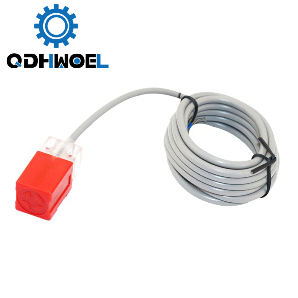 Inductive Proximity Sensor Switches PL-05N 5mm IP67 Level For Laser Cutting And Engraving Machine
