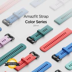 20MM Original Strap Amazfit Smart Watch Strap for Original Amazfit Bip Bip U Pace Stratos GTR Watch Amazfit Smartwatch
