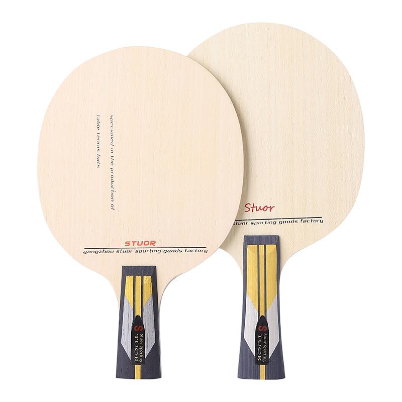 Stuor/ Situo Genuine Table Tennis Racket Floor ALC Black Carbon Kevlar Pingpong Racket 7 Itsuki Rophylactic