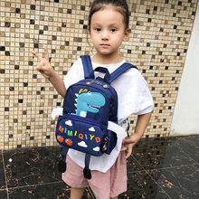 Fashion Funny Cute Dinosaur Cartoon Animal Backpack Toddler Mini School Bag for Kids Age 1-3 Years Old