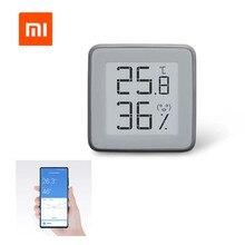 [Versão de atualização] xiaomi mmc e ink tela bt2.0 inteligente bluetooth termômetro higrômetro funciona com mijia app casa gadget ferramentas