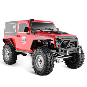 RGT RC Crawler 1:10 4wd RC coche Off Road RC Rock Crawler Pioneer EX86010-JK Hobby Crawler RTR 4x4 juguete RC impermeable