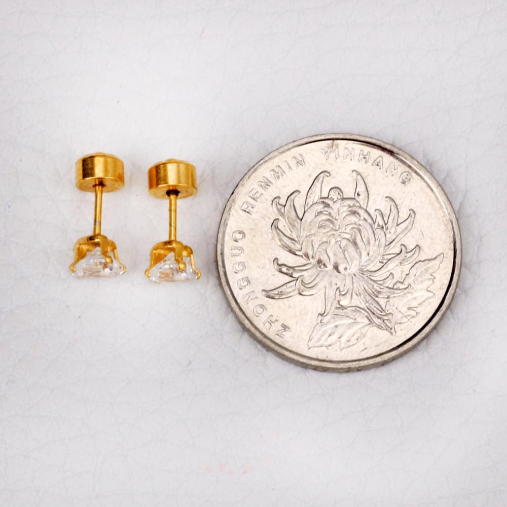 LUXUSTEEL Καρδιά Κρύσταλλο Σκουλαρίκι - Κοσμήματα μόδας - Φωτογραφία 6
