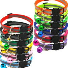 Pet-Neck-Accessories Dogs-Collars Bell Puppy Safe Reflective-Treatment Adjustable Small