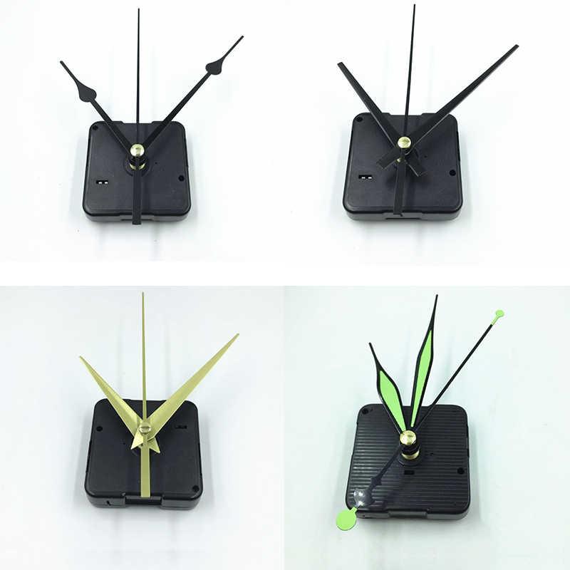 5 ชุดอุปกรณ์เสริมกลไกการเคลื่อนไหวนาฬิกาควอตซ์ส่วน DIY ชุดซ่อมส่องสว่าง DIY นาฬิกานาฬิกาเปลี่ยน