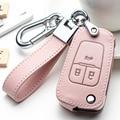 Кожаный чехол для автомобильных ключей, чехол с полным покрытием для Buick, Chevrolet Cruze, Opel, Vauxhall, Insignia, Mokka Encore, защитный чехол для автомобильных кл...