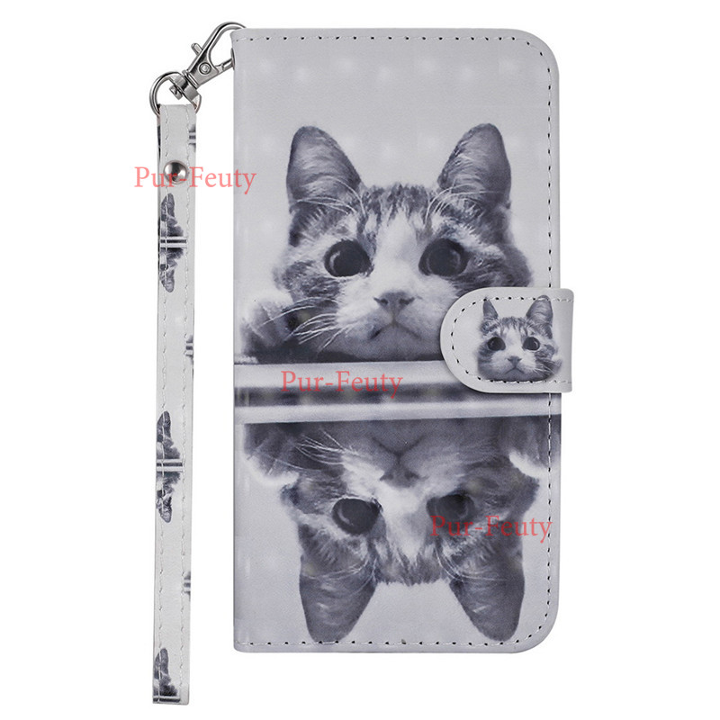 Flip PU Leather <font><b>Case</b></font> For <font><b>Nokia</b></font> <font><b>3</b></font>.1 TA-1070 TA-1063 7.1 6.1 Cover 3D <font><b>Dog</b></font> Wallet Stand Phone <font><b>Case</b></font> For <font><b>Nokia</b></font> 5 2 <font><b>3</b></font> phone Cover image