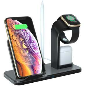 Charging-Stand iPhonex Base Airpods Wireless-Qi Link for Iwatch 4/3/2/1 3-In-1 VIP 8plus/for