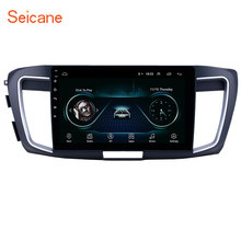 Seicane 10,1 zoll Android 8,1 Auto GPS Navigation Radio Head Unit für 2013 Honda Accord 9 2,4 L Hohe version unterstützung Carplay TPMS