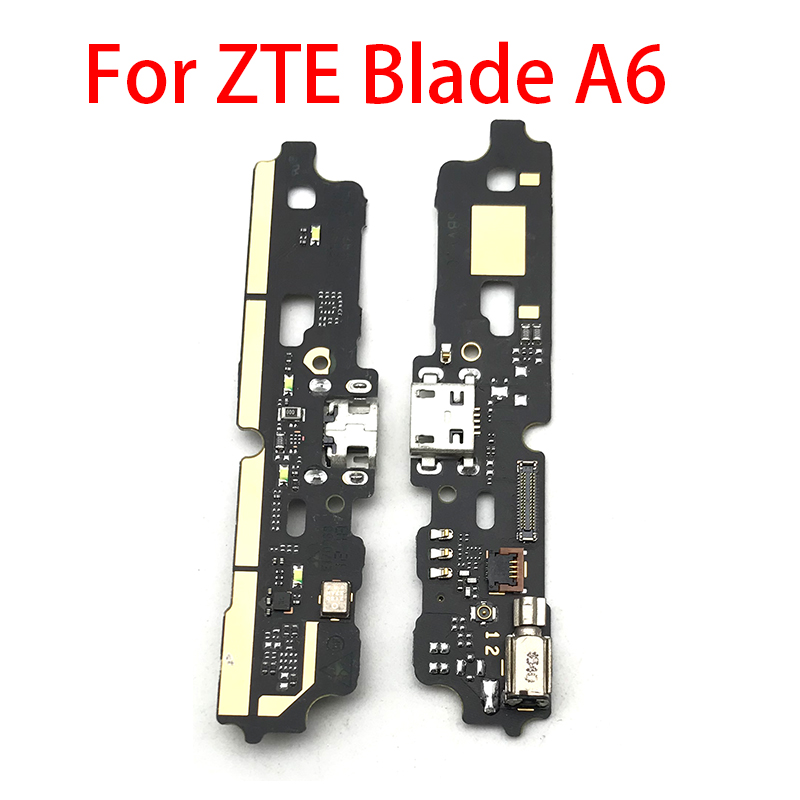 New USB Power Charging Connector Plug Port Dock Flex Cable For ZTE Blade A6 A6 Lite