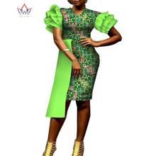Платье в африканском стиле для женщин облегающее платье юбка